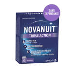 Novanuit triple action 30 gélules