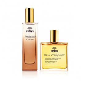 Coffret cadeau parfum prodigieux + huile prodigieuse