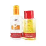 EUCERIN Sun protection sensitive protect sun spray SPF 50+ 200ml + PH5 huile de douche 100ml offerte
