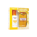 EUCERIN Sun protection sensitive protect sun spray transparent SPF 50 200ml + PH5 huile de douche 100ml offerte