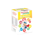 NAT & FORM Junior ours + 9 vitamines 30 oursons