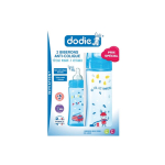 DODIE Initiation+ 2 biberons anti-colique 330ml