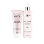 LIERAC Body hydra+ gommage micropeeling 200ml + lait repulpant 200ml