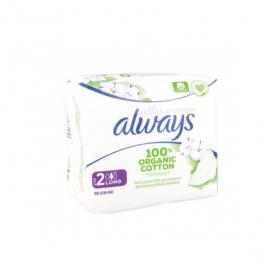 ALWAYS Cotton protection 10 serviettes hygiéniques taille 2
