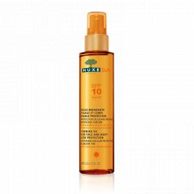 NUXE Sun huile bronzante visage et corps SPF 10 150ml