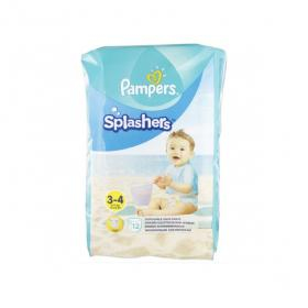 PAMPERS Splashers 12 couches-culottes de bain jetables