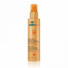 Sun spray lacté visage et corps spf 20 150ml