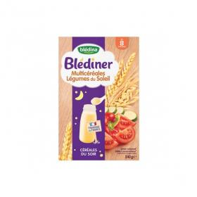 BLEDINA Blédiner céréales du soir multicéréales légumes du soleil 240g