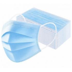 PPW Masque 3 plis non médical 50 masques