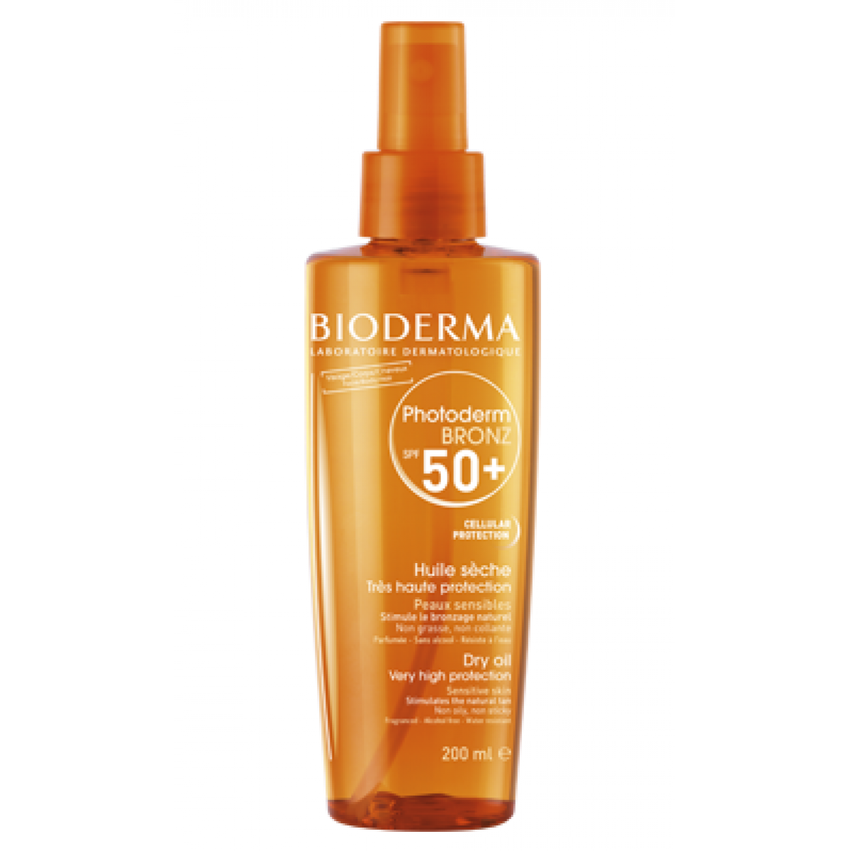 bioderma photoderm bronz huile s che spf 50 200ml parapharmacie pharmarket. Black Bedroom Furniture Sets. Home Design Ideas