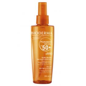 BIODERMA Photoderm bronz huile sèche spf 50+ 200ml