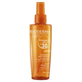BIODERMA Photoderm bronz huile sèche spf 30 200ml