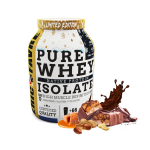 ERIC FAVRE Pure whey proteine native 100% isolate choco caramel peanut 2kg