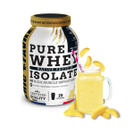 ERIC FAVRE Pure whey proteine native 100% isolate banane 2kg