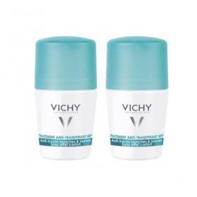 VICHY Déodorant anti-transpirant anti-traces roll-on 48H lot 2x50ml