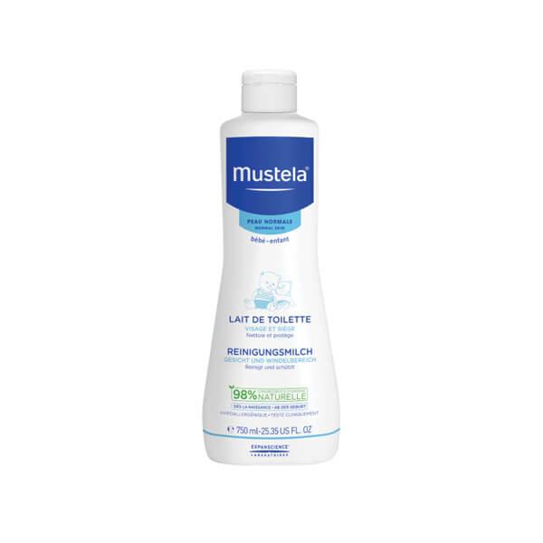 mustela b 233 b 233 lait de toilette 750ml parapharmacie pharmarket