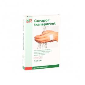 LOHMANN & RAUSCHER Curapor transparent 5 pansements chirurgicaux 7x5cm