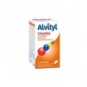 ALVITYL Vitalité 40 comprimés à croquer