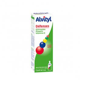 ALVITYL Défenses sirop sans sucre 240ml