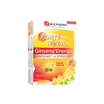 FORTÉ PHARMA Ginseng'energie fortifiant et stimulant 20 ampoules 10ml