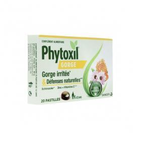 SANOFI Phytoxil gorge irritée et défenses naturelles 20 pastilles