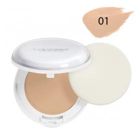 Couvrance crème de teint compact oil-free porcelaine 9.5g