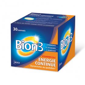 Energie continue 30 comprimés