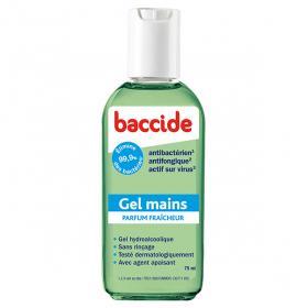 Gel mains antibactérien vert 75ml