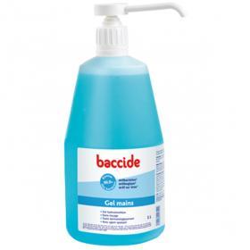 BACCIDE Gel mains antibactérien 1 litre