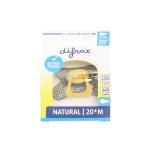 DIFRAX Sucette natural jaune moutarde 20 mois +