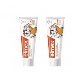 ELMEX Dentifrice enfant 3-6 ans lot 2x50ml