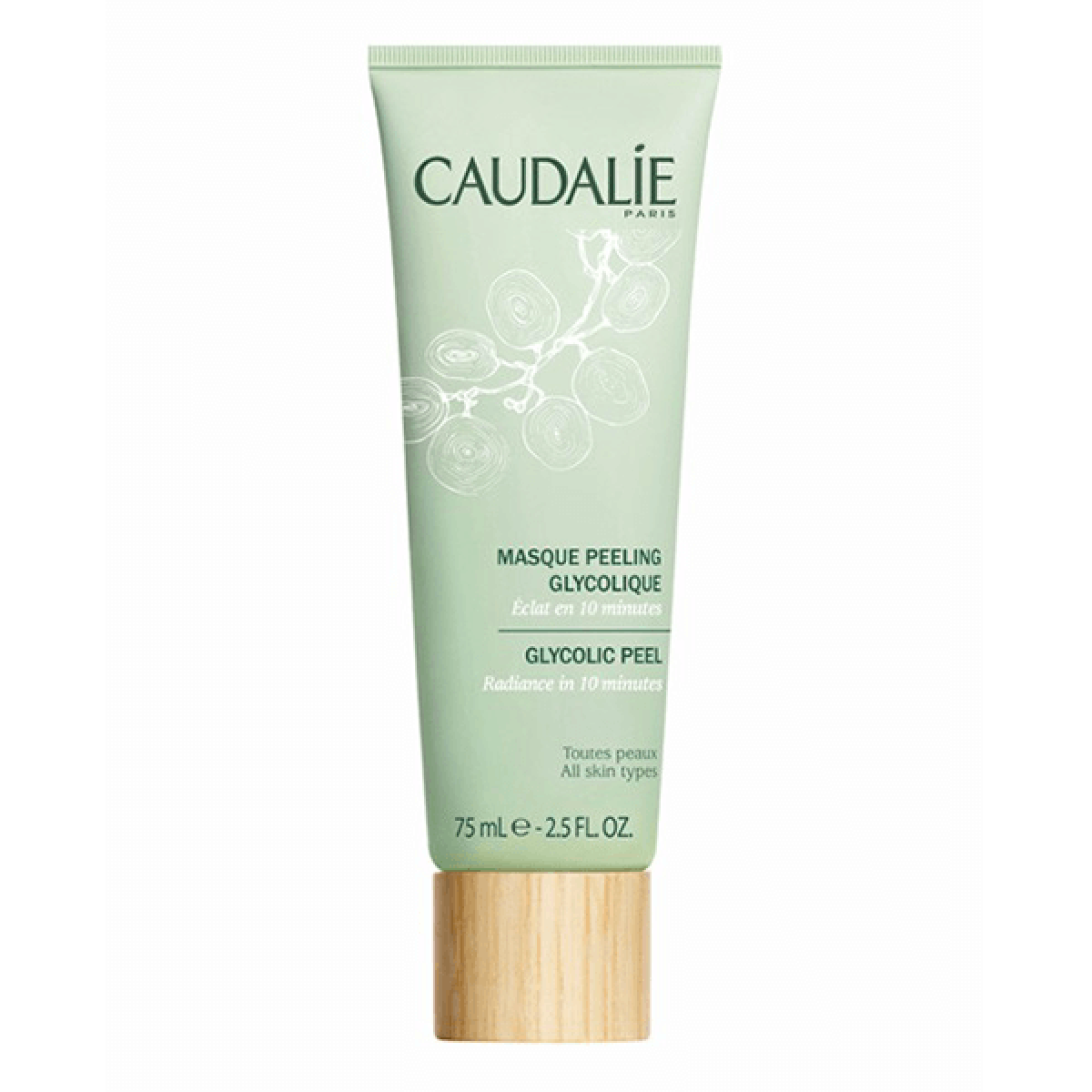 caudalie masque peeling glycolique 75ml parapharmacie pharmarket. Black Bedroom Furniture Sets. Home Design Ideas