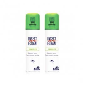 INSECT ECRAN Familles répulsif anti-moustiques lot 2x100ml