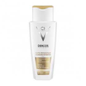Dercos shampooing crème nutri réparateur 200ml