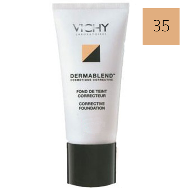 vichy dermablend fond de teint correcteur sable 30ml parapharmacie pharmarket. Black Bedroom Furniture Sets. Home Design Ideas