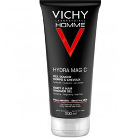 VICHY Homme gel douche hydratant mag-c 200ml
