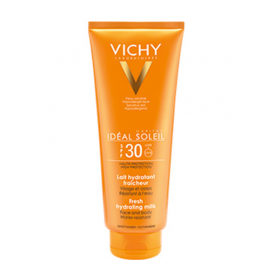 VICHY Ideal soleil lait hydratant visage et corps spf 30 300ml
