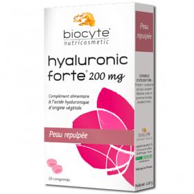 BIOCYTE Hyaluronic forte peau repulpée 30 comprimés