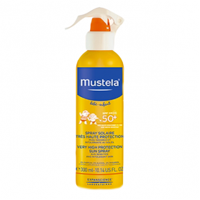 MUSTELA Spray solaire spf 50+ 300ml