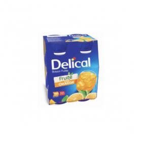 DELICAL Boisson fruitée orange 4x200ml