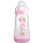 MAM Biberon anti-colique rose 260ml