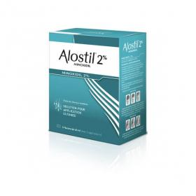 ALOSTIL Minoxidil 2% solution pour application cutanée 3x60g