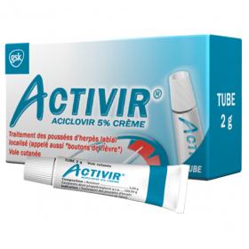 Aciclovir 5% crème tube 2g
