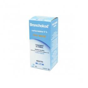 SANOFI Bronchokod sans sucre adultes 5% Solution buvable 250ml
