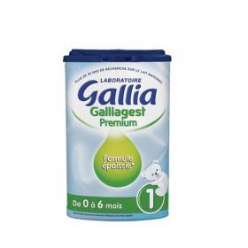 GALLIA Galliagest lait 1er âge 800g