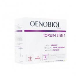 OENOBIOL Topslim 3en1 14 sachets goût framboise
