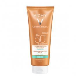 VICHY Ideal soleil lait hydratant visage et corps spf 50 300ml