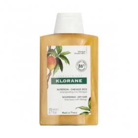 KLORANE Mangue shampooing traitant nutritif 200ml