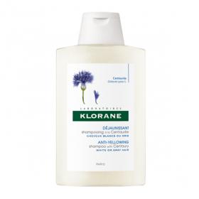 KLORANE Centaurée shampooing reflets nuance argentée 200ml