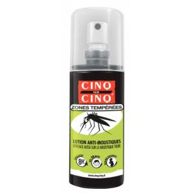 CINQ SUR CINQ Lotion zones tempérées 100ml